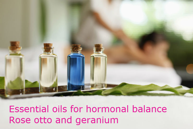 Essential oils for hormonal balance