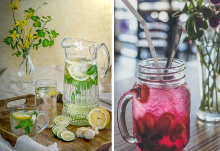 Healthy, delicious alternatives drinks to soda