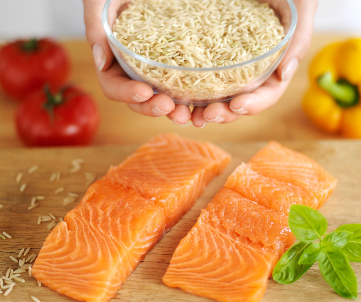 Reduce stress in menopause with a healthy diet